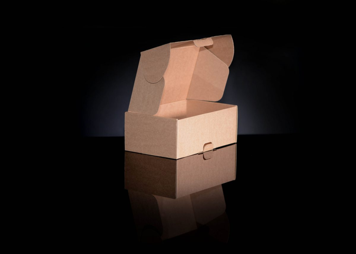 Postage box, packaging